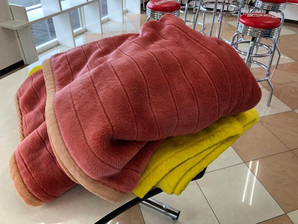 ウォッシュハウスで毛布の洗い方