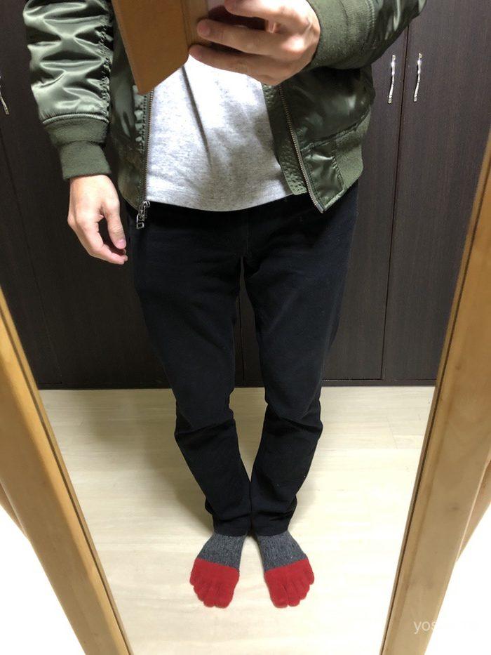 ワークマンのカプサイシン靴下
