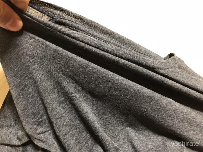 ワークマンのインナーシャツ