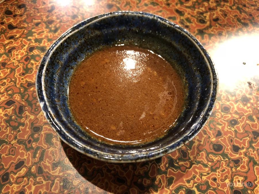 焼肉の本丸のタレ
