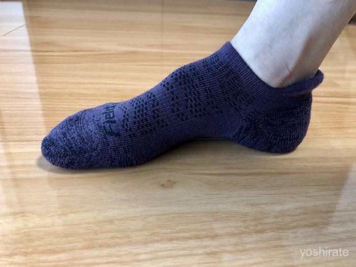ワークマンのメリノウールの靴下
