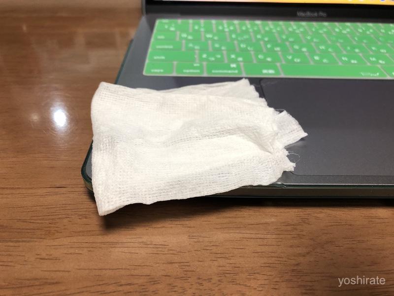 パソコン用ウェットティッシュ
