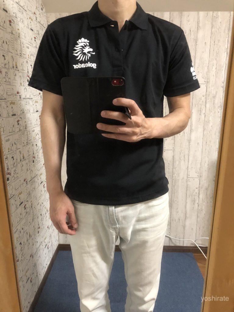 ゴレアドールのポロシャツ